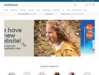 mothercare.com.hk screenshot