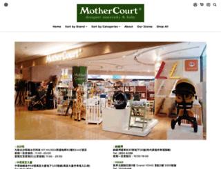 mothercourt.com screenshot