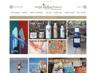 mothernatureproducts.co.za screenshot