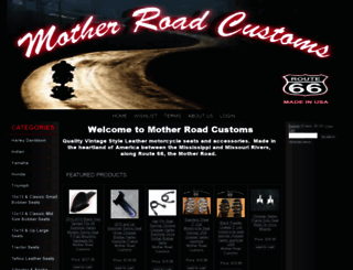 motheroadcustoms.auctivacommerce.com screenshot