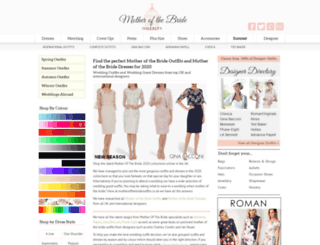 motherofthebrideoutfits.co.uk screenshot
