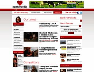 motherpedia.com.au screenshot