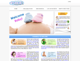 mothersbliss.com screenshot
