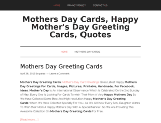 mothersday-cards.net screenshot