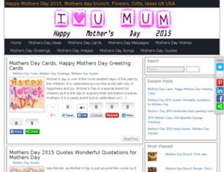 mothersday2015.co screenshot