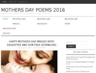 mothersdaypoems2016.com screenshot