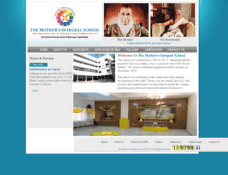 mothersintegralschool.org screenshot