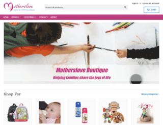 motherslove.com.au screenshot