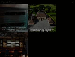 mothlighting.co.uk screenshot