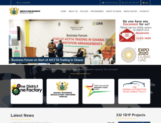 moti.gov.gh screenshot