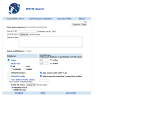 motif.genome.jp screenshot