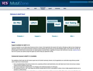 motif.ics.com screenshot