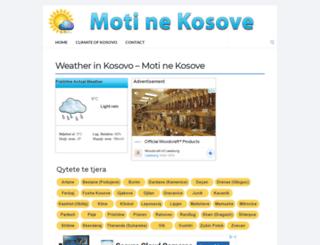 motinekosove.net screenshot