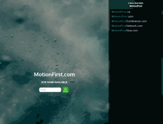 motionfirst.com screenshot