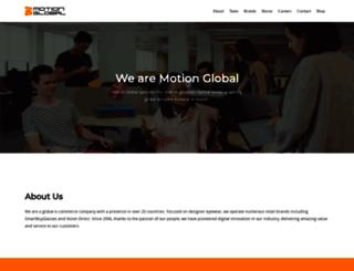 motionglobal.com screenshot