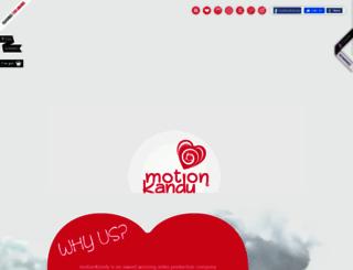 motionkandy.com screenshot