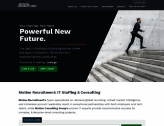 motionrecruitment.com screenshot