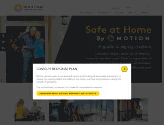 motionspecialties.com screenshot