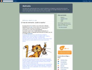 motivalia.blogspot.com screenshot