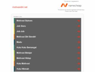 motivasidiri.net screenshot