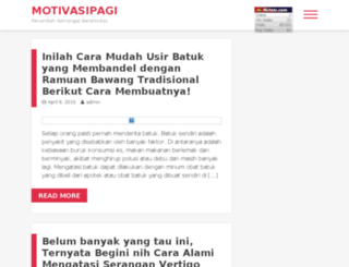 motivasipagi.com screenshot