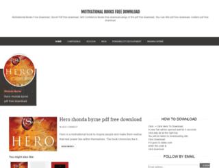 motivationalbooksfreedownload.blogspot.com screenshot