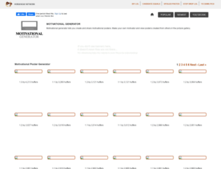 motivationalgenerator.com screenshot