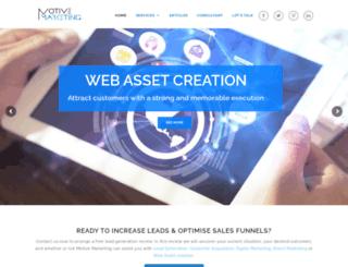 motivemarketing.com.au screenshot
