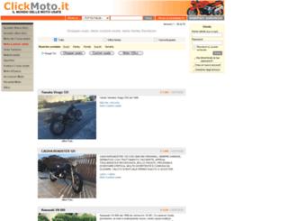 moto-custom.clickmoto.it screenshot