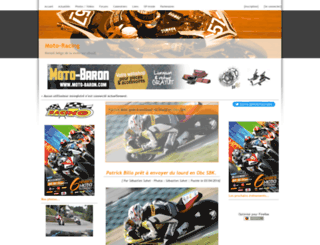 moto-racing.be screenshot