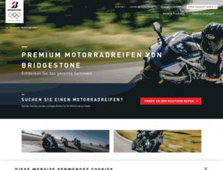 moto.bridgestone.de screenshot