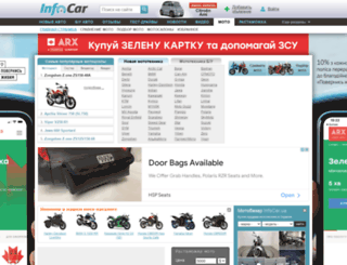 moto.infocar.ua screenshot