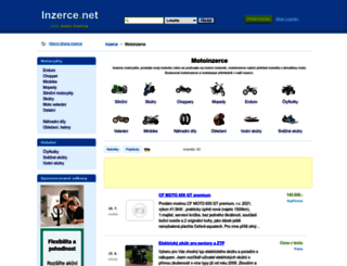 moto.inzerce.net screenshot
