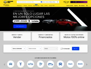 moto.mercadolibre.com.co screenshot