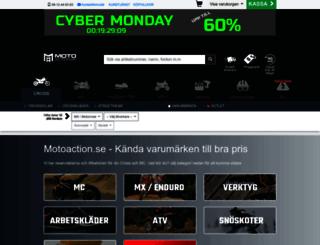 motoaction.se screenshot