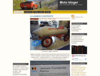 motobloger.pl screenshot
