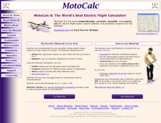 motocalc.com screenshot