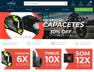 motocentral.com.br screenshot