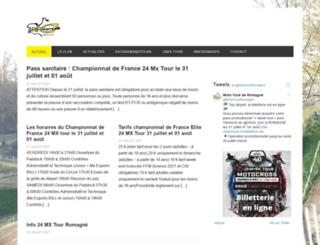 motoclub-romagne.com screenshot