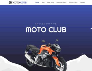 motoclub1810.org screenshot