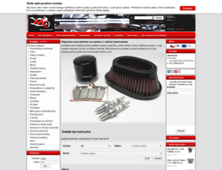 motocomponents.cz screenshot