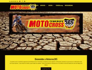 motocross365.es screenshot