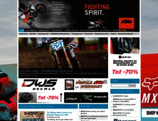 motocrossplanet.nl screenshot