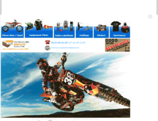 motocrossquadenduro.kingeshop.com screenshot