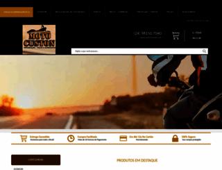 motocuston.com.br screenshot