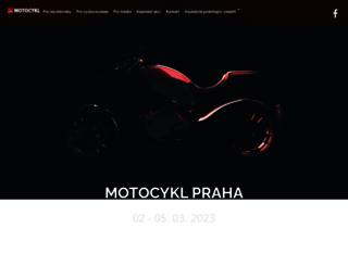 motocykl-praha.cz screenshot