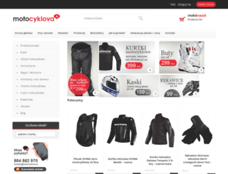 motocyklova.pl screenshot