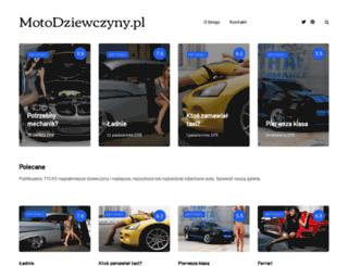 motodziewczyny.pl screenshot