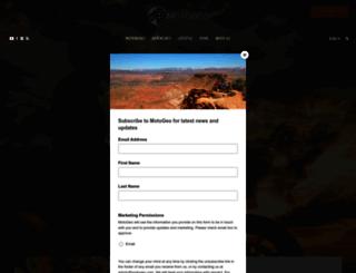 motogeo.com screenshot