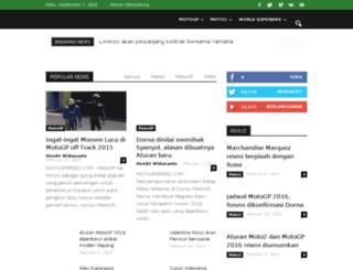motogpspeed.com screenshot